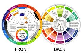 Artist Colour Mixing Chart Details About Artists Colour Wheel Mixing Guide 13cm Diameter By One Or Bulk Buy 12 Pack