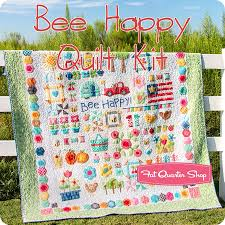 Bee Happy Quilt Kit Featuring Bee Basics and Backgrounds by Lori ... & Hover to zoom Adamdwight.com