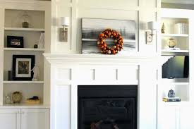 fireplace mantel and bookshelves fantastic with