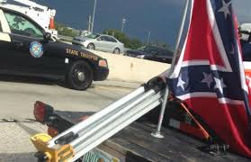 over confederate flag results in fight