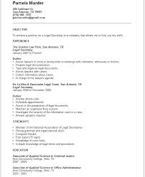 Examples Of Legal Resumes Law Resumes Examples Of Good Legal Resumes