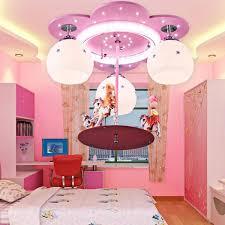 feminine pink hanging bedroom ceiling