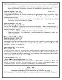Commercial Real Estate Appraiser Sample Resume Management Resume Example 80