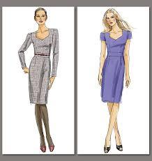 Vogue Patterns Dresses Simple Vogue Patterns 48 Misses' Dress