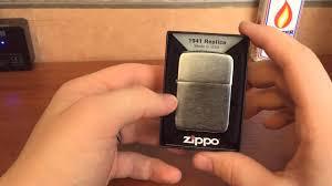 Обзор <b>Zippo</b> 1941 replica - YouTube