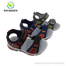 China <b>2019 New</b> Style TPR Sole with Light Children/<b>Boys Sandals</b> ...