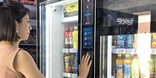 Amazon Vending Machine Mesmerizing China's Vending Machines Get Smart Nikkei Asian Review