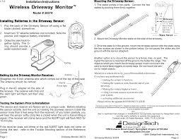 Design Tech International Springfield Va Shr1 Security R C Receiver User Manual 30074 Walmart Dm