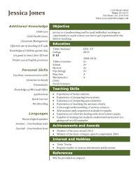Resume Templates Word 2003 Delectable Teaching Assistant Resume Template Best Templates Free Download Word