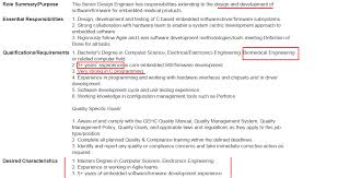 Biomedical Engineering Job Description Awesome Why Do Biomedical Engineers Struggle To Find A Job