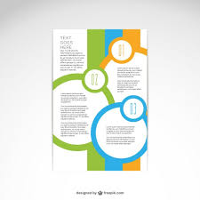 Brochure abstract design Vector | Free Download