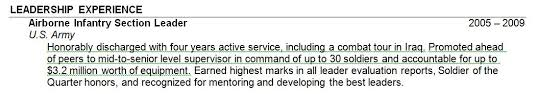 military experience on resume. How should I address my military experience on my resume The