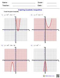 math lab graphing quadratic equations in standard form answer key