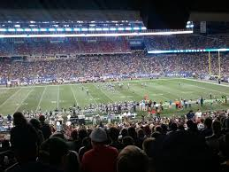 new england patriots seat view for gillette stadium section 109