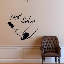 marvelous wall decor for nail salon as well as wall ideas salon wall art photo