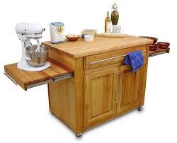Mobile Kitchen Island Modern Mobile Kitchen Islandreal Simple Kitchen Island In White