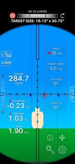 Mildot Master Chart Mil Dot Ballistics