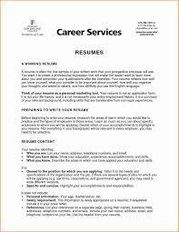 6 Good Resume Objectives For Students Objective For A Student Resume