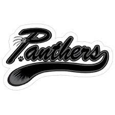 Panther Logo Type Mascot Sticker