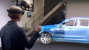 Microsoft Used Cars Hololens Volvo Cars Uk