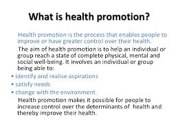 strategies for promoting health <br > 2 what is health promotion