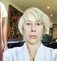 helen mirren makeup free insram