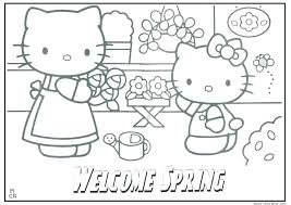 Valentines Day Hello Kitty Coloring Pages That You Can Print Free