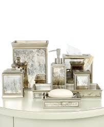 Bathroom Vanity Accessory Sets Kassatex Bath Accessories Palazzo Collection Bathroom