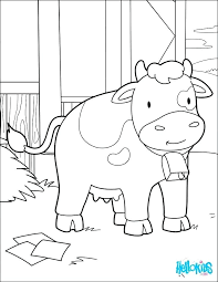 Coloring Picture Of Cow Coloring Page Cow Coloring Pictures Of Cows