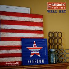 on patriotic canvas wall art with easy mini pallet patriotic canvas art