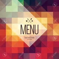 Abstract Menu Design Restaurant Menu Design Vector Menu Brochure Template For Cafe