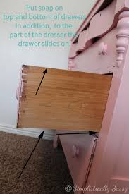 How To Make Drawers Make Dresser Drawers Slide With Ease By Simplistically Sassy