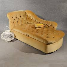 antique chaise longue day bed sofa couch settee ottoman english victorian c1880