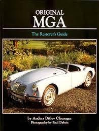 1956 1959 mga 1500 owner s manual reprint mga restorer s guide to originality 1955 1962