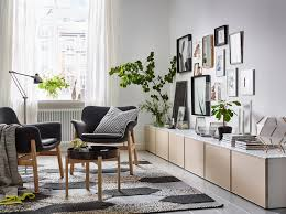 create a smart way to display and hide away things in your living room with
