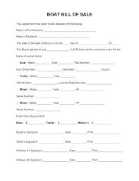 nc bill of sale form best of boat bill sale free template word car editable blank