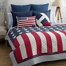 Contemporary American Flag Bedding Today