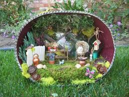 Small Picture 48 best Miniature Fairy Gardens images on Pinterest Fairies