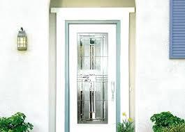 6 panel exterior door with glass window x textured fast fit interior steel exterio