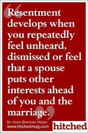Marriage Quotes Interesting Quotes About Love Resentment Develops When You R