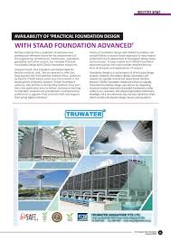 Practical Foundation Design With Staad Foundation Advanced The Singapore Engineer January 2019 By The Singapore