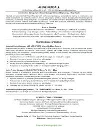 San Diego Resume Amazing Entry Level Construction Management Resume Examples Template Project