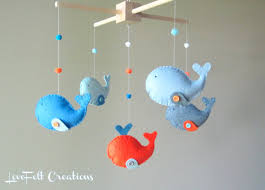How To Make A Mobile For Baby Crib Custom Whale Zoology 3