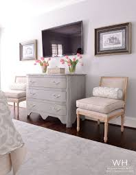 pawleys island posh decorating around a tv in the bedroom for