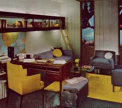 Retro office decor Cool 1970s Home Office Pinterest 1970s Home Office Vintage Mid Century Design Ideas In 2019