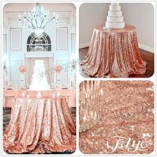 108 round sparkly rose gold sequin table cloth sequin table cloth cake sequin