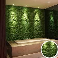 interior artificial grass wall design