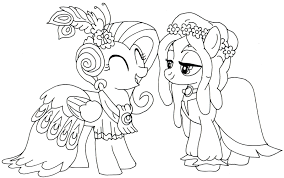 Free Printable My Little Pony Coloring Pages For Kids Cool2bkids And