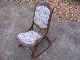 shocking antique gany folding rocking chair bbcbcddca pict of identifying wooden ideas and trend identifying antique