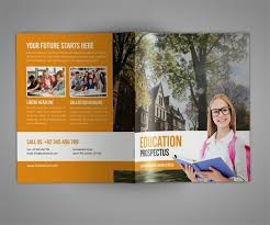 Education Brochure Templates Amazing College Brochure Template Education Brochure